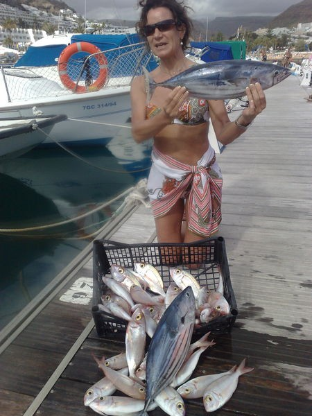06/03 Nice Catch Cavalier & Blue Marlin Sport Fishing Gran Canaria