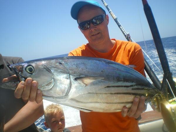 01/06 Skipjack Tuna Cavalier & Blue Marlin Sport Fishing Gran Canaria