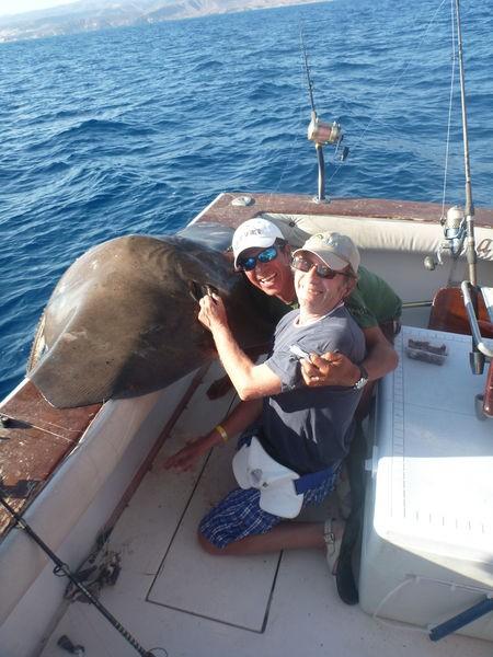 03/09 Common Stingray Cavalier & Blue Marlin Sport Fishing Gran Canaria