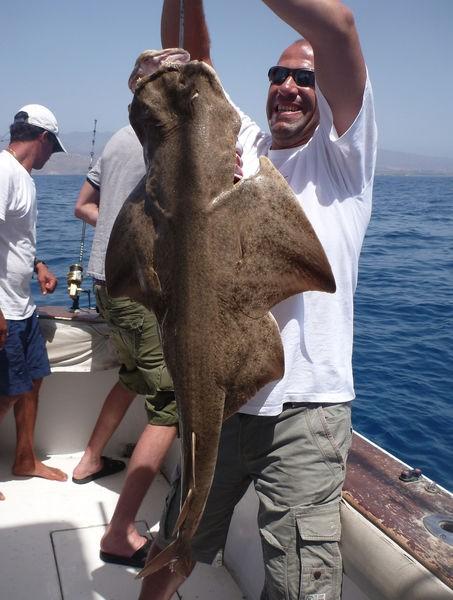 07/09 Angel shark Cavalier & Blue Marlin Sport Fishing Gran Canaria