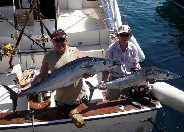17/09 -  2 Wahoo's Cavalier & Blue Marlin Sport Fishing Gran Canaria