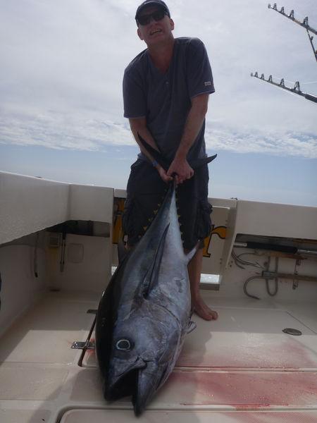 Big Eye Tuna - Patudo capturado por Frank van der Griendt en el Cavalier Pesca Deportiva Cavalier & Blue Marlin Gran Canaria