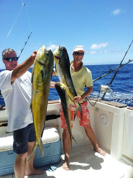 Dorado atrapado por Gijs ten Velde Pesca Deportiva Cavalier & Blue Marlin Gran Canaria