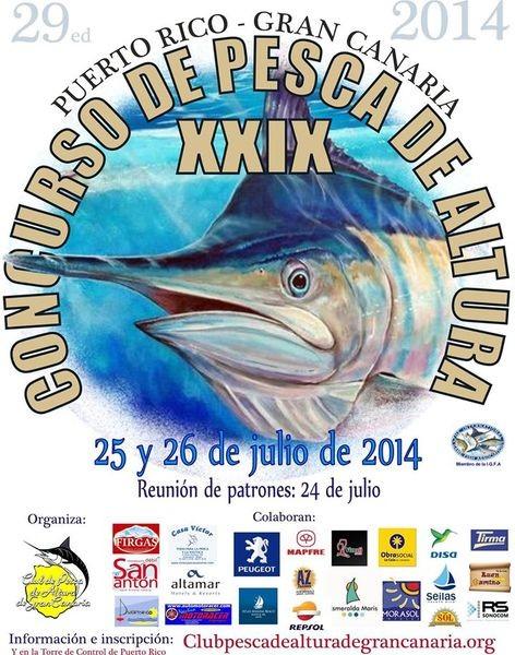 Torneo de caza mayor 2014 Pesca Deportiva Cavalier & Blue Marlin Gran Canaria