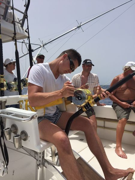 Hooked Up - Dave van Balkum from Holland Cavalier & Blue Marlin Sport Fishing Gran Canaria