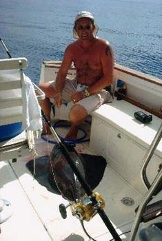 black stingray Cavalier & Blue Marlin Sport Fishing Gran Canaria