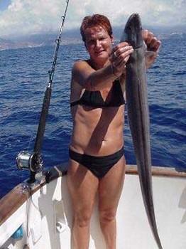 conger eel Cavalier & Blue Marlin Sport Fishing Gran Canaria