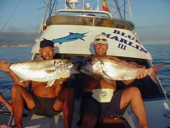 red snapper & amberjack Cavalier & Blue Marlin Sport Fishing Gran Canaria