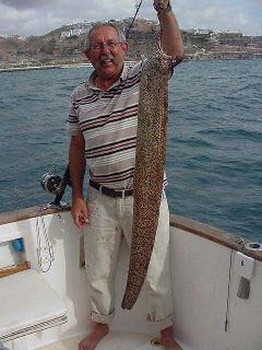 anguila morena mediterránea Pesca Deportiva Cavalier & Blue Marlin Gran Canaria