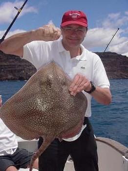madeira ray Cavalier & Blue Marlin Sport Fishing Gran Canaria