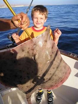 blonde ray Cavalier & Blue Marlin Sport Fishing Gran Canaria