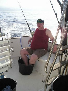 sweat feet ? Cavalier & Blue Marlin Sport Fishing Gran Canaria
