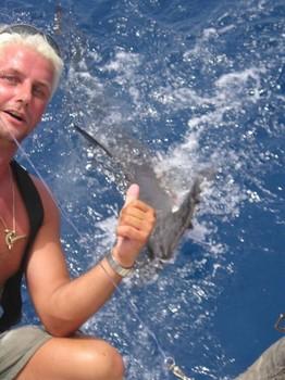 Tiburon martillo Pesca Deportiva Cavalier & Blue Marlin Gran Canaria