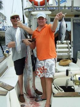 wahoo & skipjacks Cavalier & Blue Marlin Sport Fishing Gran Canaria
