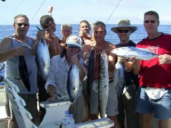 skipjack & baracuda Cavalier & Blue Marlin Sport Fishing Gran Canaria