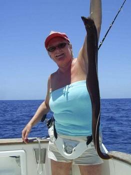 anguila morena Pesca Deportiva Cavalier & Blue Marlin Gran Canaria