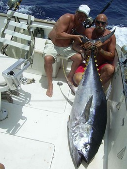 yellow fin tuna Cavalier & Blue Marlin Sport Fishing Gran Canaria