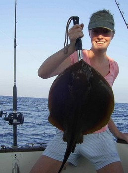 common stingray Cavalier & Blue Marlin Sport Fishing Gran Canaria