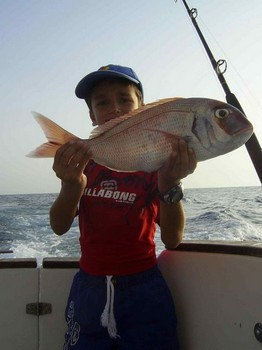 red snapper Cavalier & Blue Marlin Sport Fishing Gran Canaria