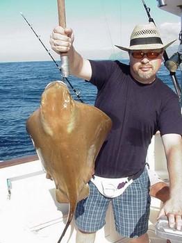 24/01 eagle ray Cavalier & Blue Marlin Sport Fishing Gran Canaria