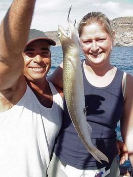 28/01 lizard fish Cavalier & Blue Marlin Sport Fishing Gran Canaria