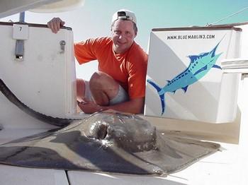 11/02 common stingray Cavalier & Blue Marlin Sport Fishing Gran Canaria