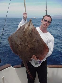 02/04 blonde ray Cavalier & Blue Marlin Sport Fishing Gran Canaria