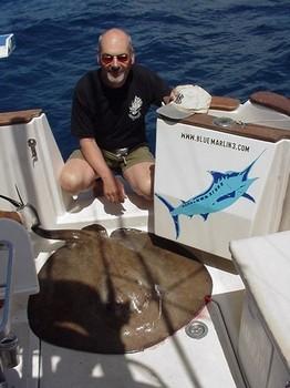 13/04 round stingray Cavalier & Blue Marlin Sport Fishing Gran Canaria