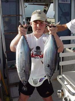 06/06 skipjack tuna Cavalier & Blue Marlin Sport Fishing Gran Canaria