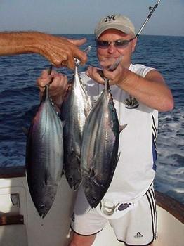 07/06 skipjack tuna Cavalier & Blue Marlin Sport Fishing Gran Canaria
