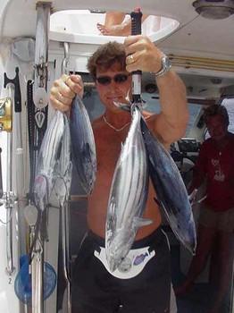 10/07 skipjack tuna Cavalier & Blue Marlin Sport Fishing Gran Canaria