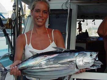 29/07 skipjack tuna Cavalier & Blue Marlin Sport Fishing Gran Canaria