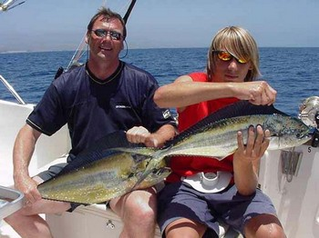 30/07 dorado Cavalier & Blue Marlin Sport Fishing Gran Canaria