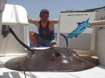 05/08 round stingray Cavalier & Blue Marlin Sport Fishing Gran Canaria