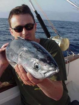 08/08 skipjack tuna Cavalier & Blue Marlin Sport Fishing Gran Canaria
