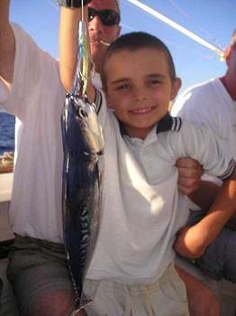 21/08 skipjack tuna Cavalier & Blue Marlin Sport Fishing Gran Canaria