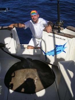 25/09 round stingray Cavalier & Blue Marlin Sport Fishing Gran Canaria