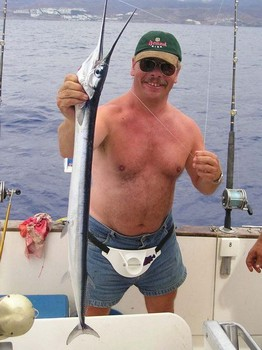 17/10 garpike Cavalier & Blue Marlin Sport Fishing Gran Canaria