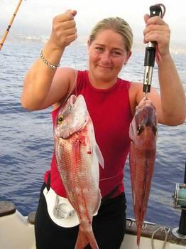 07/11 red snapper Cavalier & Blue Marlin Sport Fishing Gran Canaria