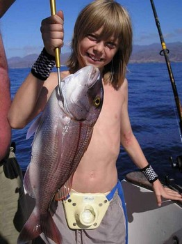 12/11 red snapper Cavalier & Blue Marlin Sport Fishing Gran Canaria
