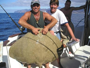 16/01 butterfly ray Cavalier & Blue Marlin Sport Fishing Gran Canaria