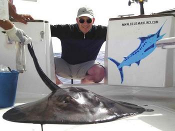 04/02 round stingray Cavalier & Blue Marlin Sport Fishing Gran Canaria