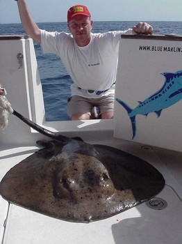 11/02 round stingray Cavalier & Blue Marlin Sport Fishing Gran Canaria