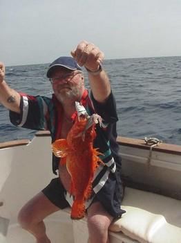 13/02 scorpionfish Cavalier & Blue Marlin Sport Fishing Gran Canaria