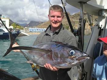 27/02 albacore tuna Cavalier & Blue Marlin Sport Fishing Gran Canaria