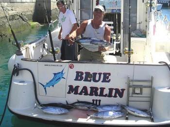 01/03 skipjack tuna Cavalier & Blue Marlin Sport Fishing Gran Canaria