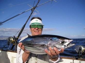 14/03 skipjack tuna Cavalier & Blue Marlin Sport Fishing Gran Canaria