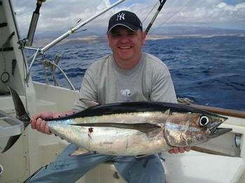 01/05 albacore tuna Cavalier & Blue Marlin Sport Fishing Gran Canaria