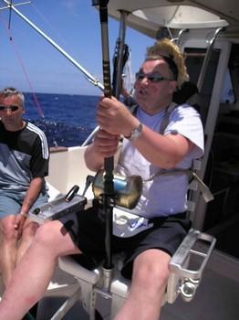 12/05 hooked up Cavalier & Blue Marlin Sport Fishing Gran Canaria