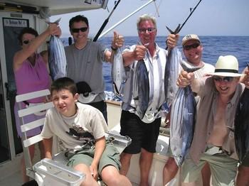 04/06 skipjack tuna Cavalier & Blue Marlin Sport Fishing Gran Canaria